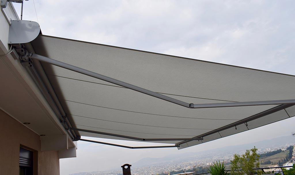 Τέντα markilux 1300 στη Νεάπολη Θεσσαλονίκης