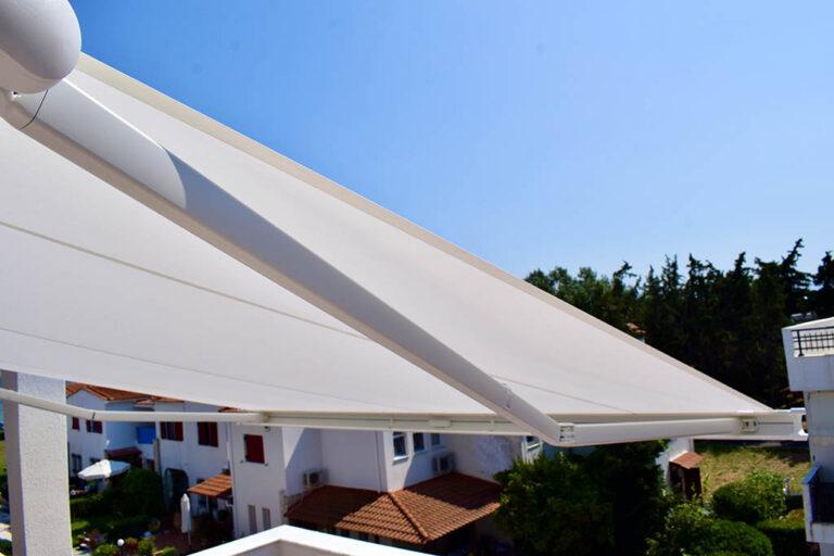Τέντα markilux 990 στην Αγία Τριάδα Θεσσαλονίκης