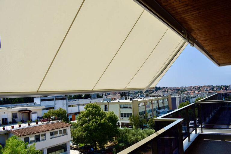Τέντα markilux 1300 στα Κωνσταντινοπολίτικα Θεσσαλονίκης