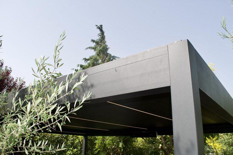 Βιοκλιματική πέργκολα αλουμινίου στην Θέρμη Θεσσαλονίκης
